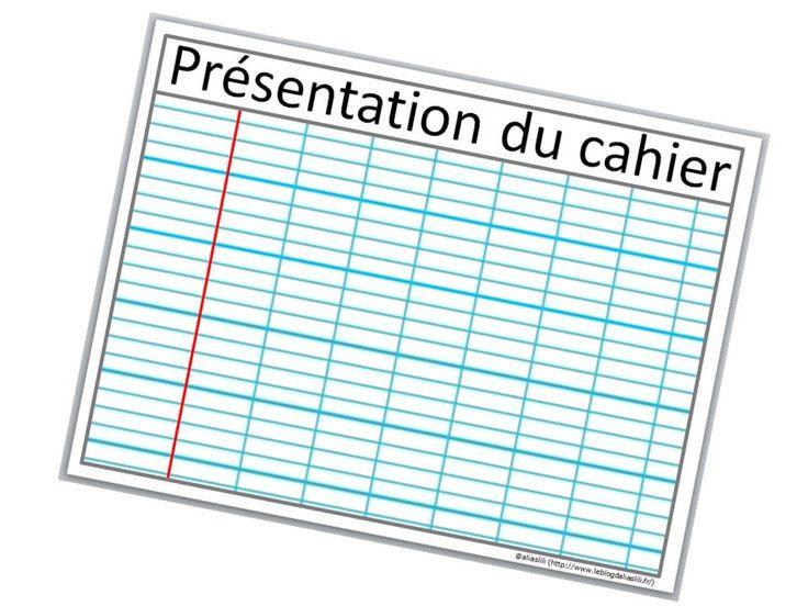 affiche présentation cahier du jour