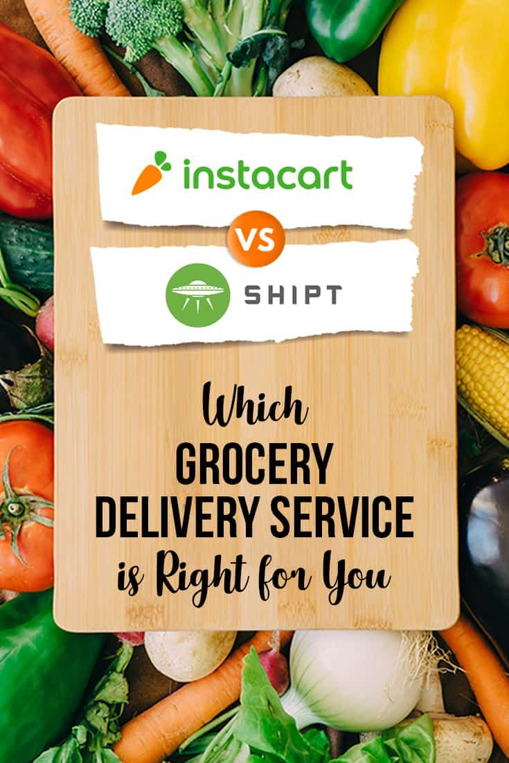 Shipt and Instacart shopper tips for both grocery delivery
