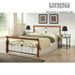 Kovová posteľ VICTORIA 180x200 cm
