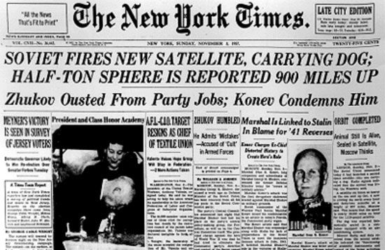 sputnik essays Sputnik, the world's first artificial satellite was launched the size of sputnik was much more impressive than the intended us satellite, vanguard a downfall was in sputniks radio transmitters, which were sending radio signals to earth.