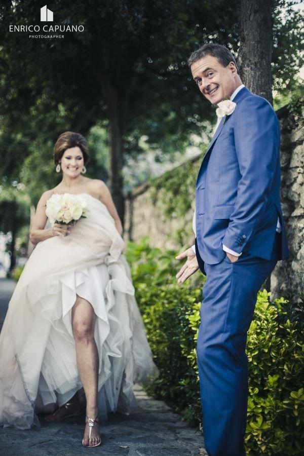 Wedding in Ravello on Amalfi Coast Italy with a local wedding planner fun ravello wedding photos