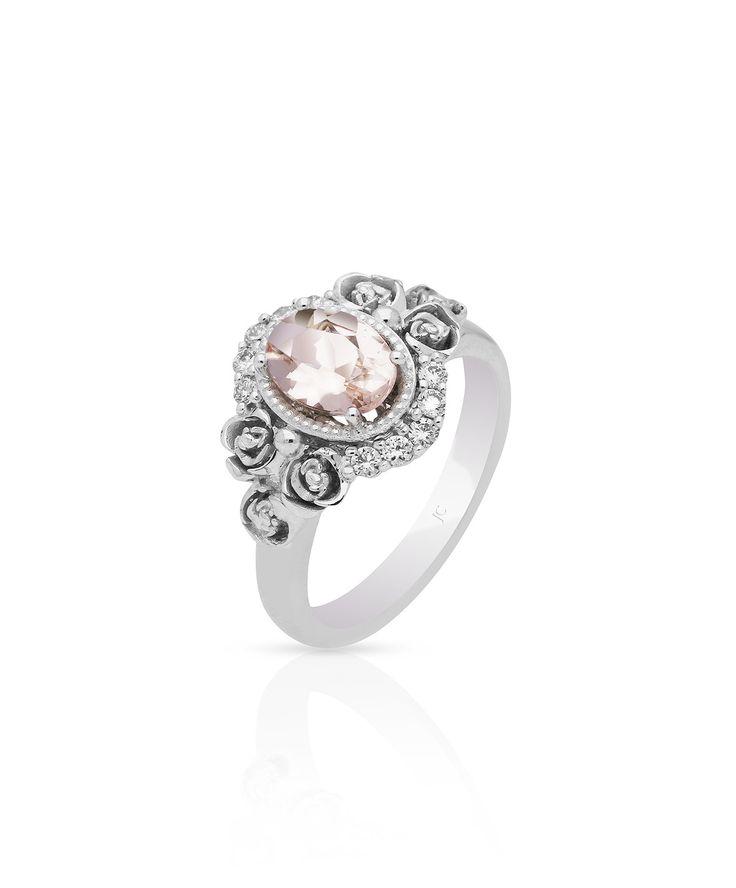 April Morganite Engagement Ring – Jenna Clifford