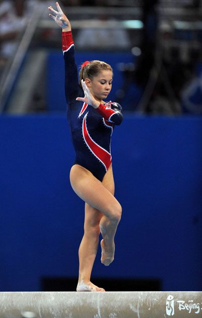 Shawn Johnson is amazing! She makes me miss gymnastics