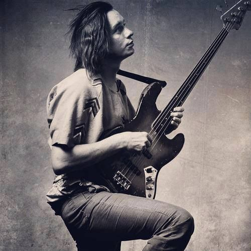 Jaco Pastorius: I keep a picture of Jaco on my work desk to remind me why I chose music. To remember the hunger and joy I felt when I started studying Jaco, to whose memory I am forever indebted.