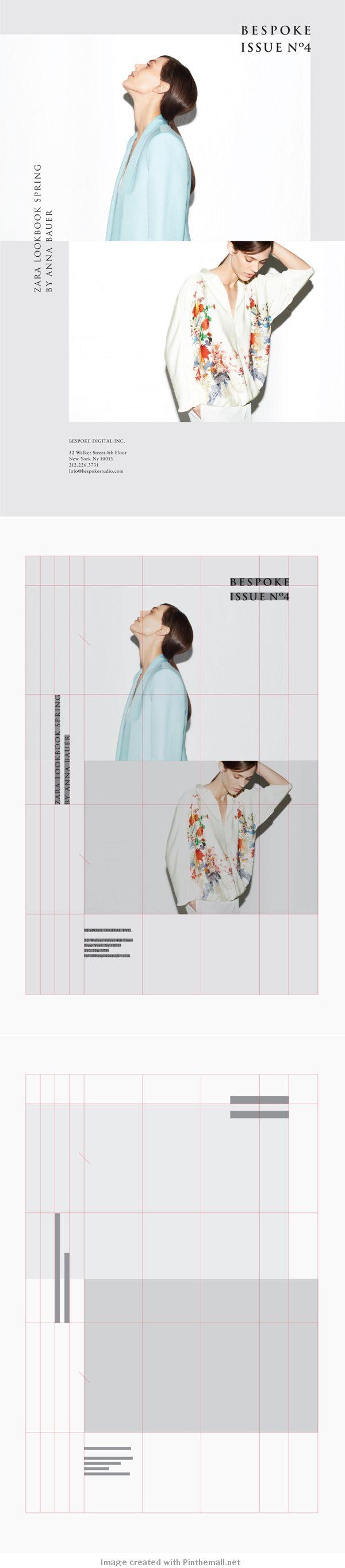 Bespoke Issue No4   print (book, magazine, newspaper) + typography + editorial + layout + design