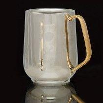 Garrett Wade Stainless Steel Double-Wall Drinking Mug