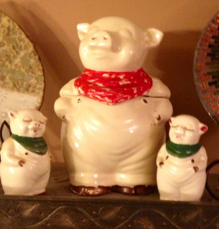 pig amp piglets cookie jar amp salt amp pepper shakers my granny s ...