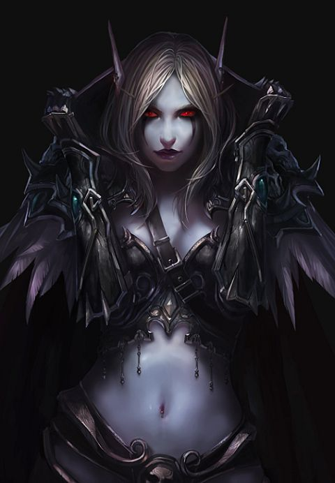 Lady sylvanas sucks dick