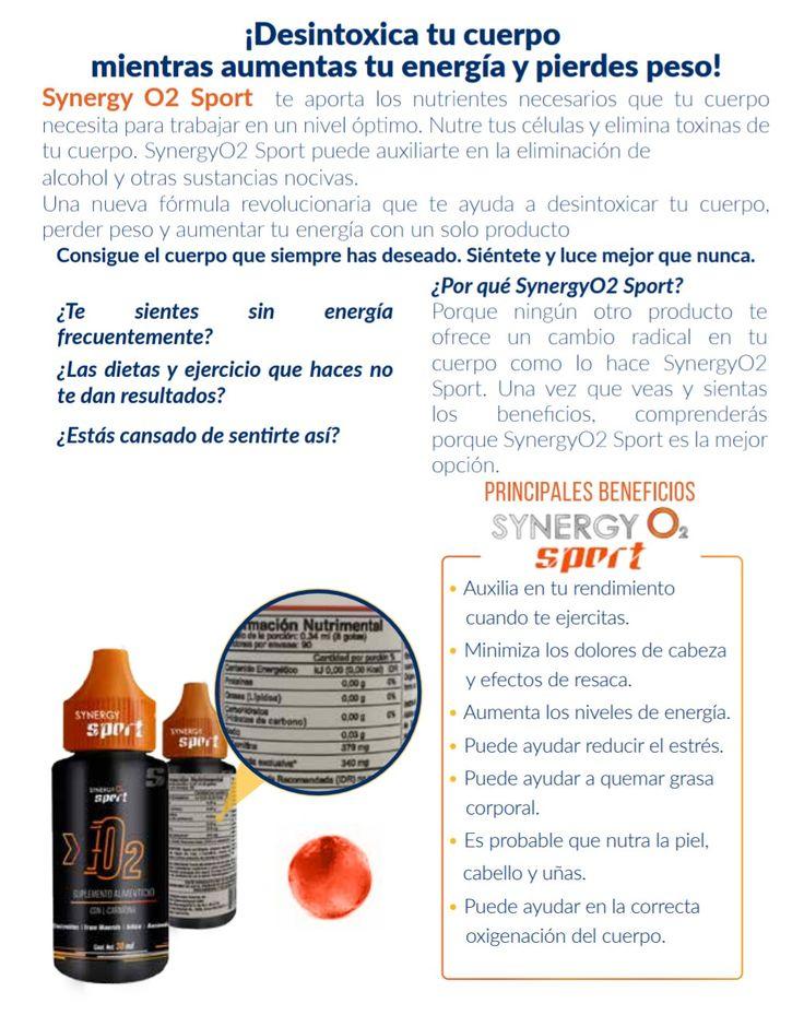 Pierde peso de forma natural aumentando tú energía.  www.synergyo2.com Oficina Bogotá 3187982262