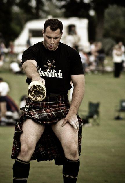 Gregor Edmunds ... in a kilt!