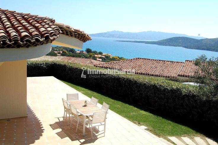 Ville sul mare con giardino e splendida vista mare vicino a a #Palau servizi 5* #sardinia