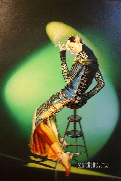 'Who`s who'. Lohmuller Gyuri #art #oil #canvas #paintings #sale #original #surreal #symbolic #symbolism #fantasy #conceptual #realism #surrealism #world #music #religion #sky #belief #phylosophy #mythology