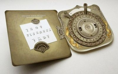 Steampunk decoder