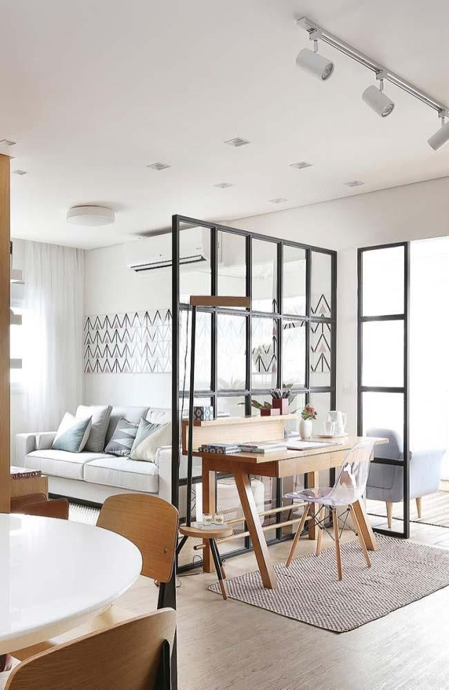 Room divider: 60 models of decoration and materials