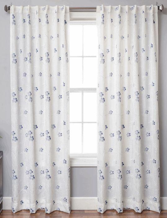 Juliana Linen Style Curtains | Www.bestwindowtreatments.com