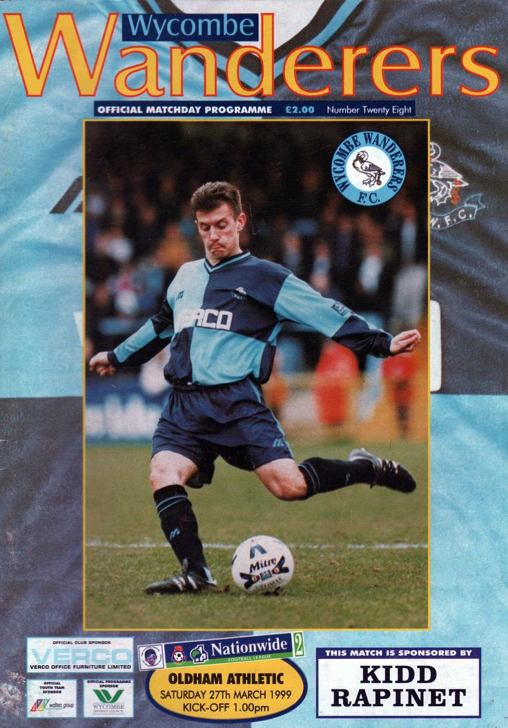 Wycombe Wanderers FC (not wasps)