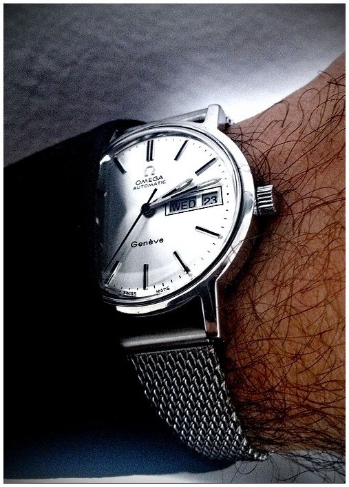 Omega Geneve Automatic #omegawatches