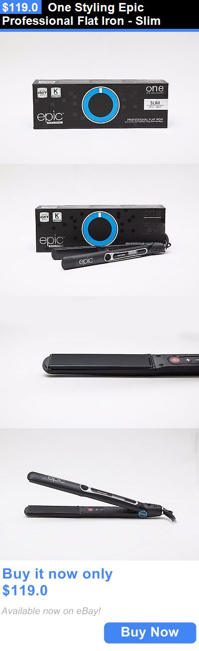 Hair Ties and Styling Accs: One Styling Epic Professional Flat Iron - Slim BUY IT NOW ONLY: $119.0