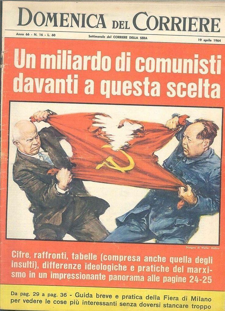 DOMENICA DEL CORRIERE N° 16 - 19 APRILE 1964 - ILL. WALTER MOLINO | eBay