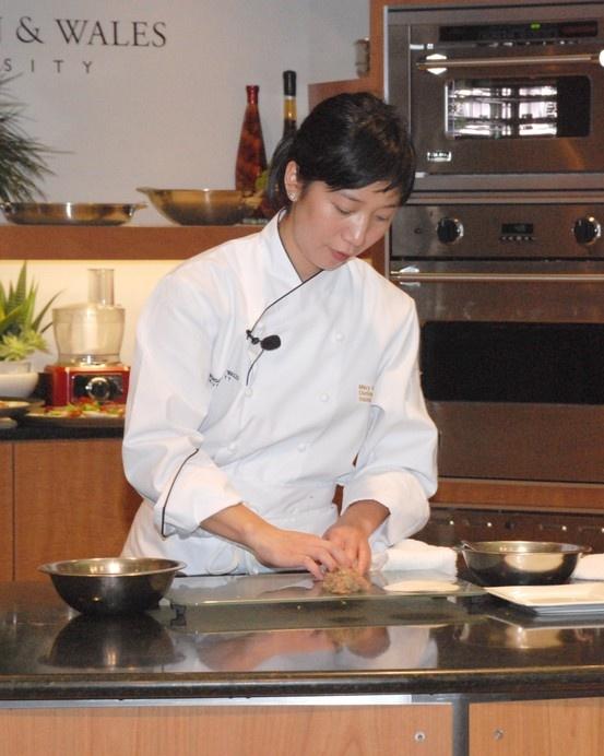 Johnson & Wales University Distinguished Visiting Chef - Mary Nguyen