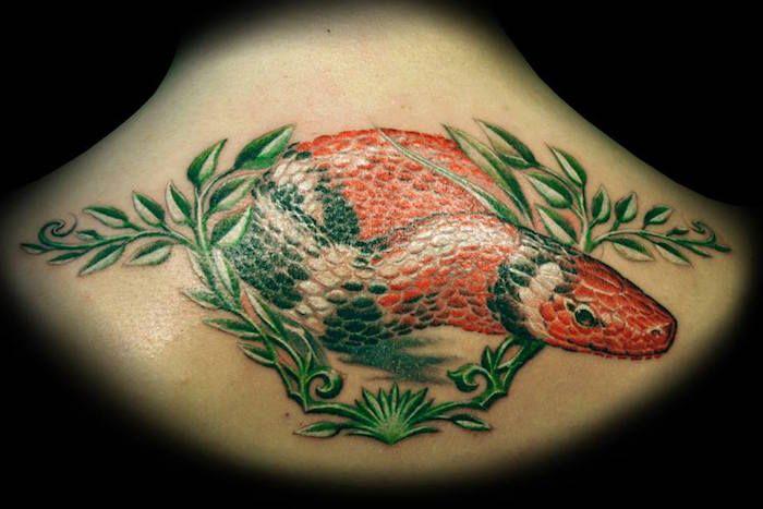 Значение татуировки змея