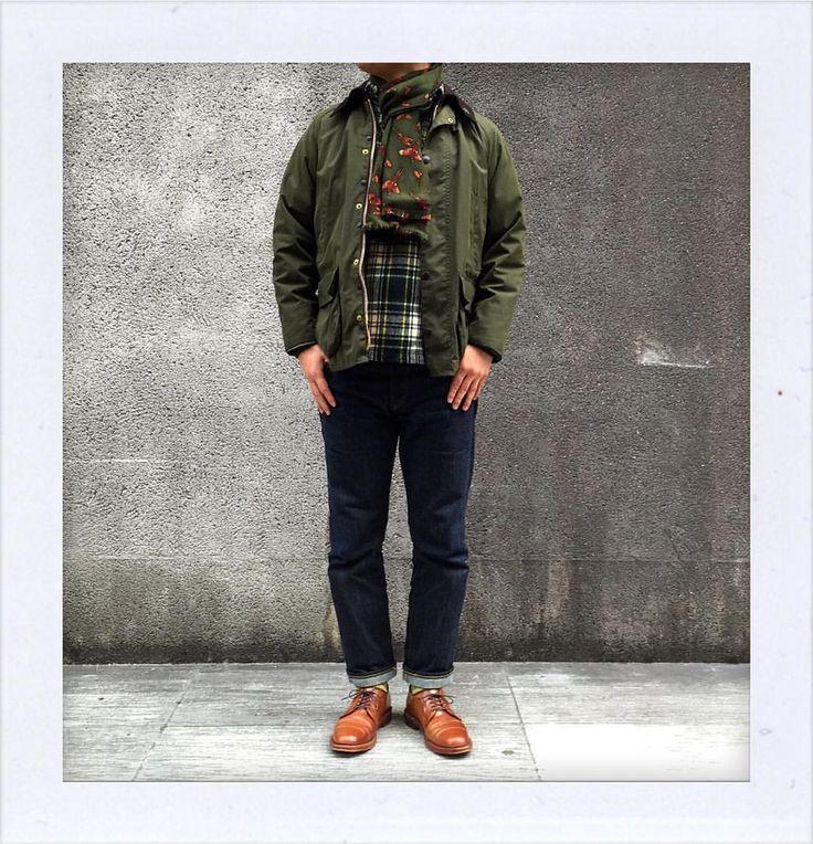 東京は今日も寒いです。 Today is also very cold in Tokyo. #Barbour #Bedale #80s #LLBean #RalphLauren #RRL #ALDEN #MyStandard #DailyFashion #Vintage #Fashion #FashionPost #ファッション #バブアー #ラルフローレン #オールデン