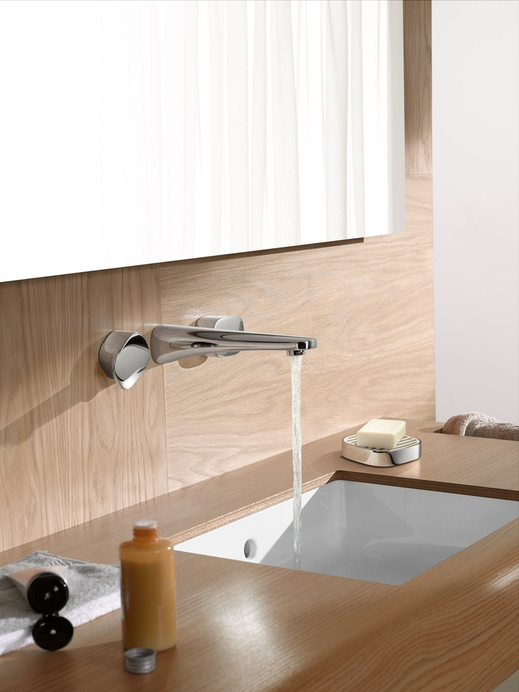 Minimalist But Elegant Wall Mount Faucet   This Minimalist Yet Elegant Wall  Mount Faucet Was A Part Of Gentle Collection That Designed By Designer  Matteo ...