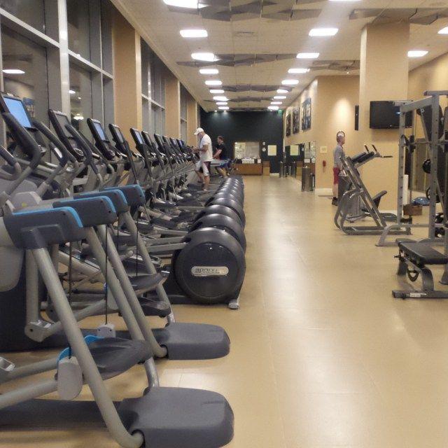 Fitness Center at the Hilton Orlando Hotel, Florida, USA