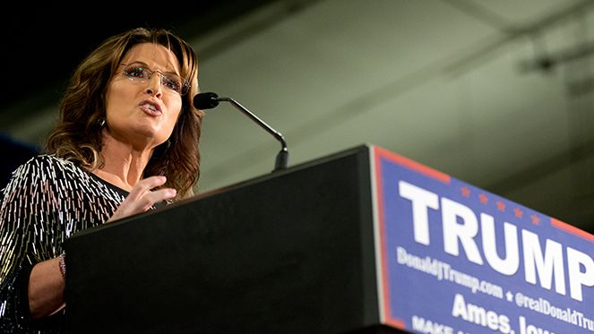 Trump has been on the opposite side of the issues that matter most to Palin's supporters.
