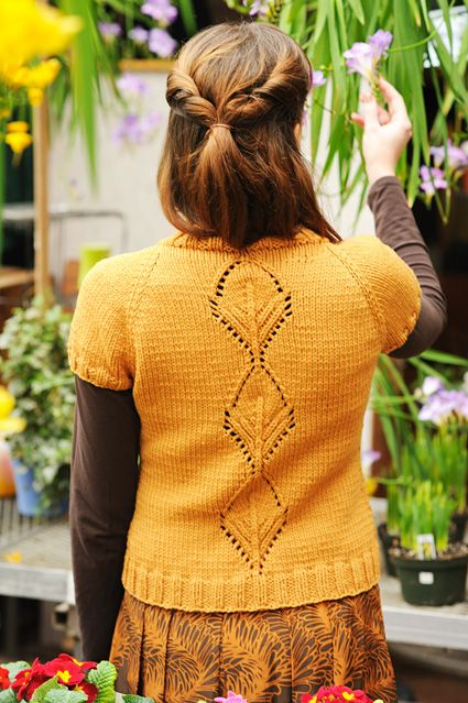 I'm working on number 2 of these. Knits up quickly and is just difficult enough to keep you interested!