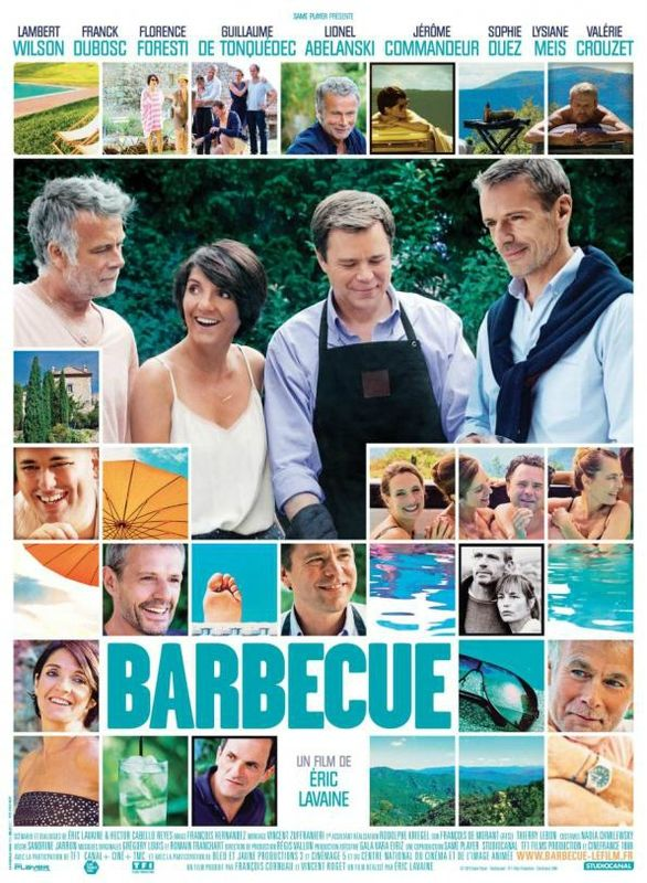 AP du film BARBECUE en présence de Florence Foresti, Lambert Wilson, Jérome Commandeur, Lionel Abelanski !