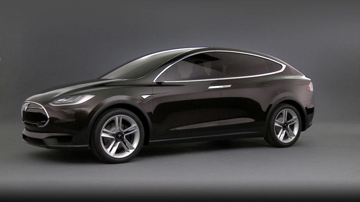 Tesla Model X - All electric SUV.