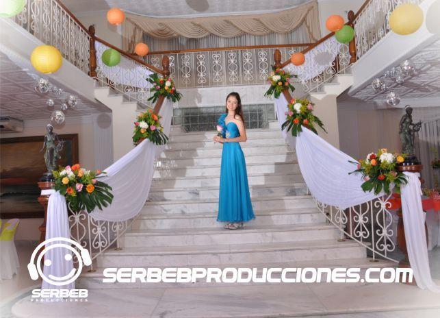 Salón Cascajal ubicado en el barrio ciudad jardín, el único salón con escaleras en el centro. Tels: (2)3770195-(2)3752843
