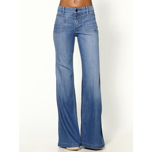 17 best ideas about Women's Wide Legged Jeans on Pinterest ...