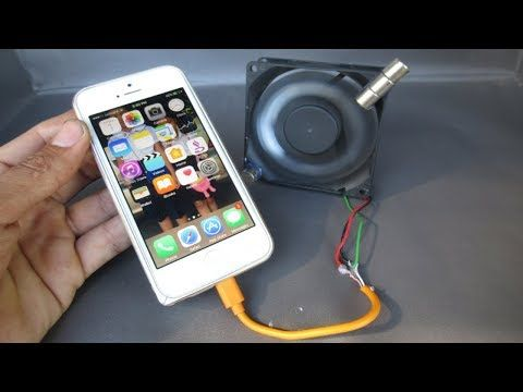 Free Energy Mobile Phone Charger By Magnets With Fan Computer