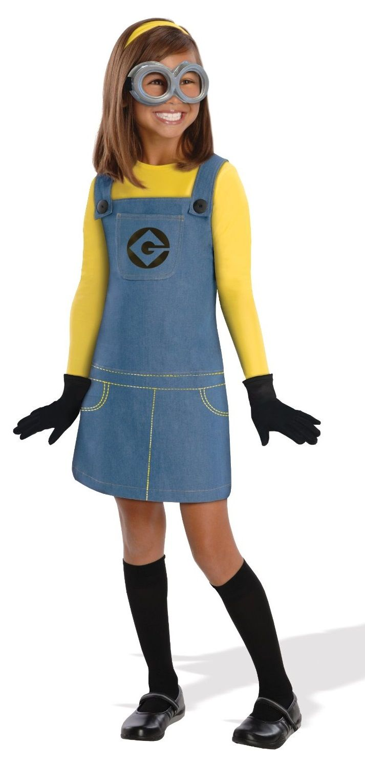 Despicable Me 2 Deluxe Girls Minion Costume
