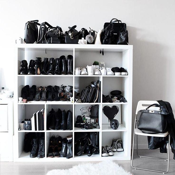 minimalist wardrobe. shoes.