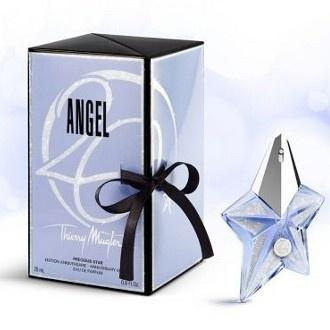 La #fragrance #Angel scintille de mille feux pour son 20e