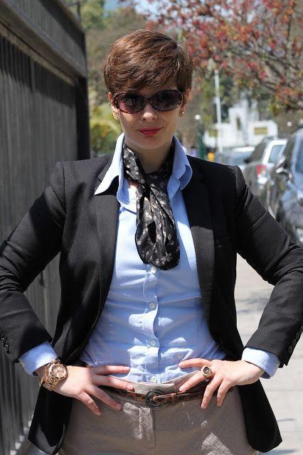 Divina Ejecutiva: Mis Looks - Pantalones brocados