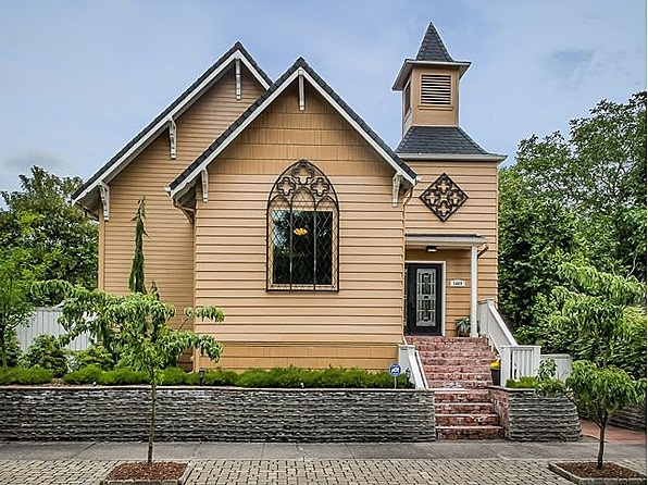 17 best images about homes made from old churches on for Beautiful classic houses