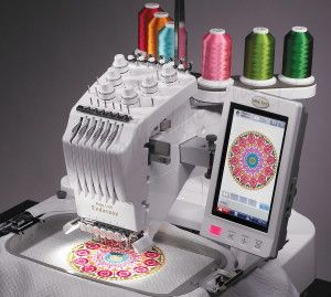 An embroidery machine is used for all kinds of stitching, and many people with sewing talent can use one to create the most amazing clothing and things like tablecloths and quilts. The cost of an embroidery machine can be anywhere from a few hundred dollars all the way up to a thousand dollars, and even a used embroidery machine can still be sold for a high price.