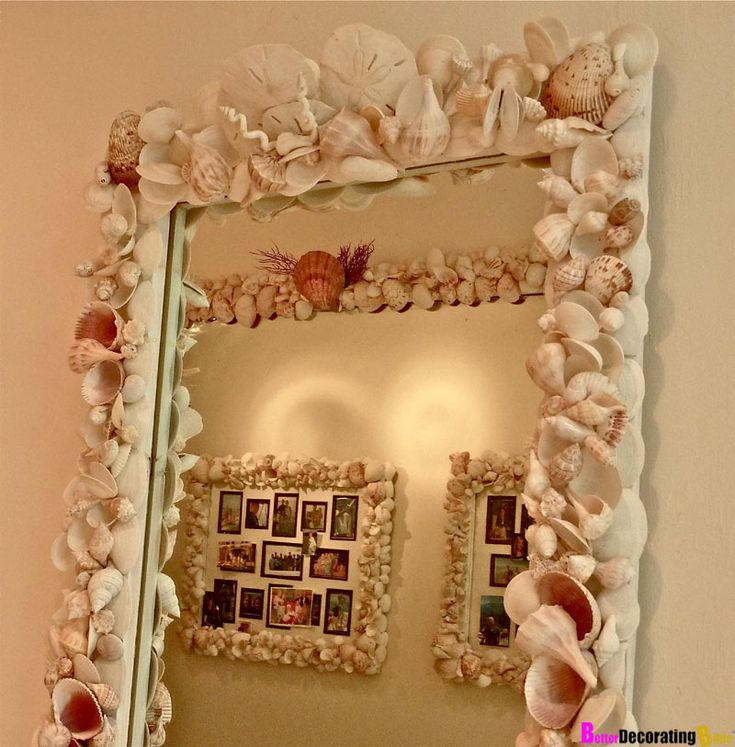9 best decorated mirrors images on pinterest