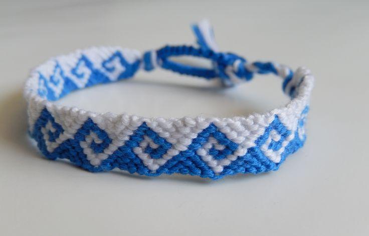 Greek Waves Friendship Bracelet Friendship Bracelets