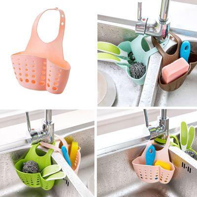 Подвесной держатель кухонных, ванных принадлежностей