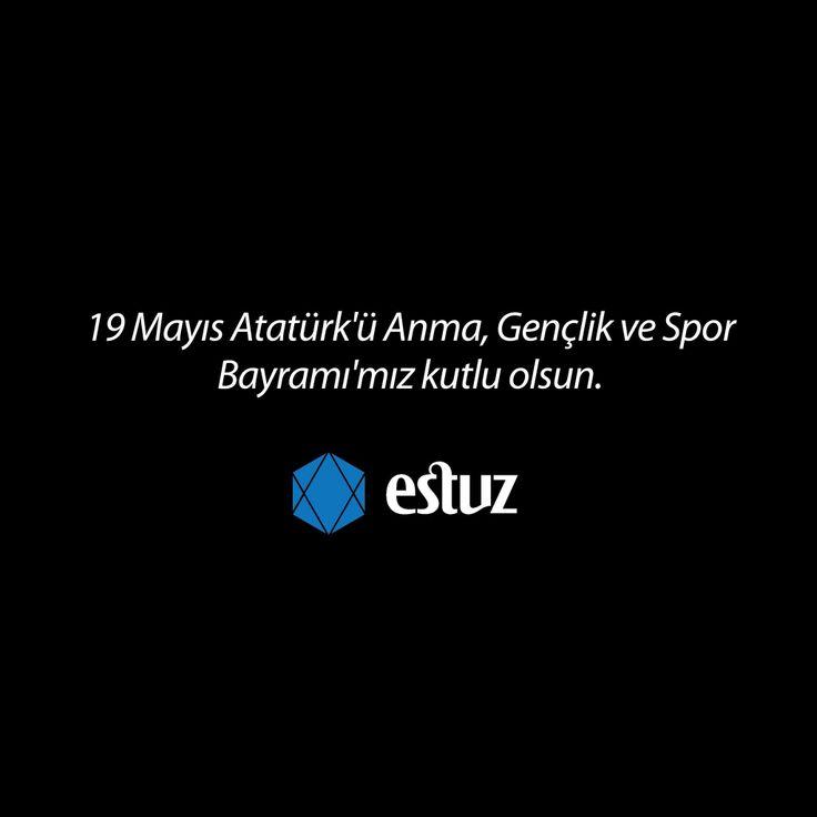 19 Mayıs Atatürk'ü Anma, Gençlik ve Spor Bayramı'mız Kutlu Olsun... #estuz #tuz #hayatındengesi #salt #saltofturkey #19Mayıs #Atatürk #Gençlik #Ve #spor #bayramı