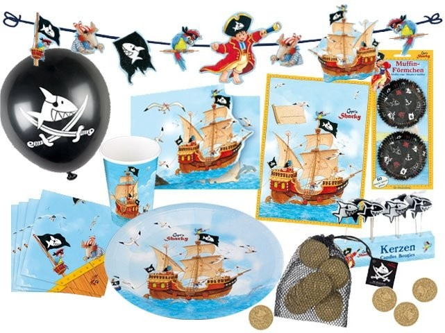 Pirate Birthday Display Set.