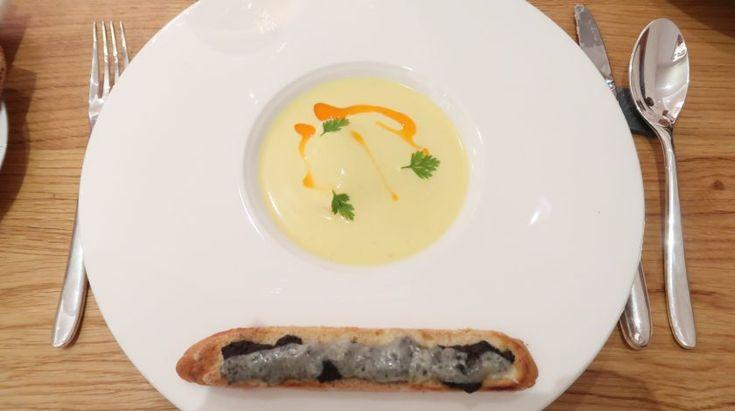 Blog lifestyle melolimparfaite entrée tourteau Avis sur le restaurant Carte Blanche
