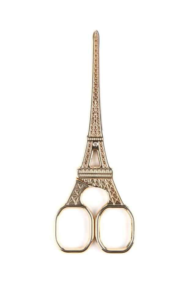 EIffel Tower Scissors, $14.95 ------ Seriously? I would hang these up as a decoration and still be happy ♡