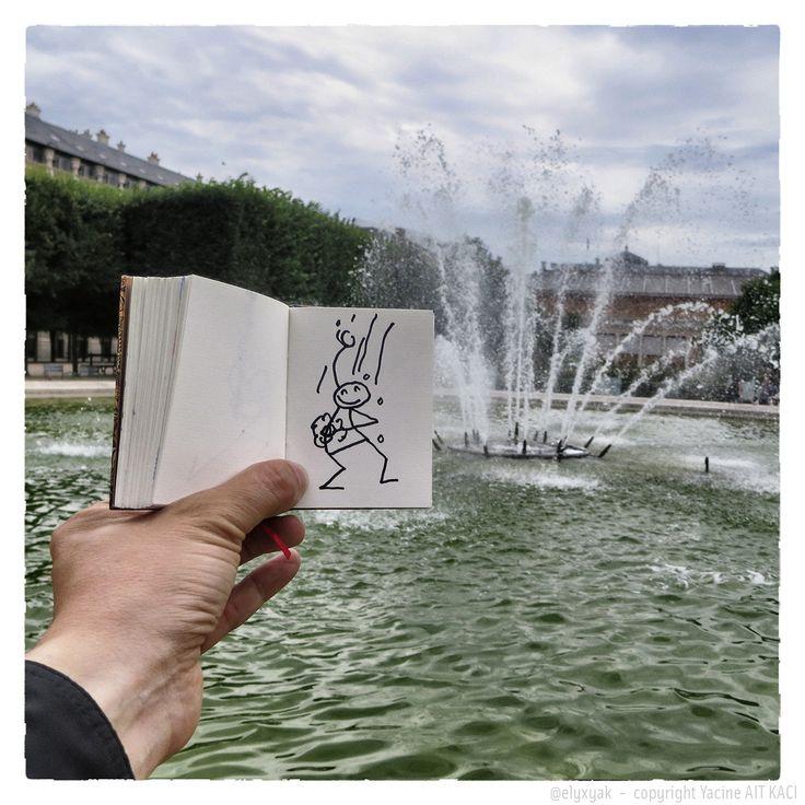 Elyx dans Paris © Yacine Ait Kaci