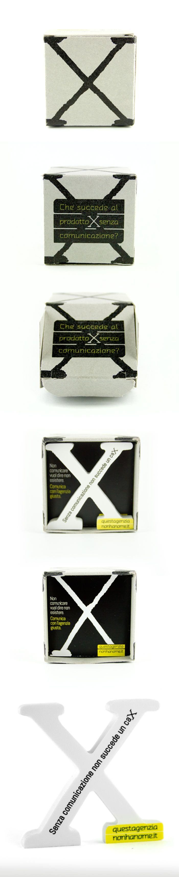 X packaging #questagenzianonhanome